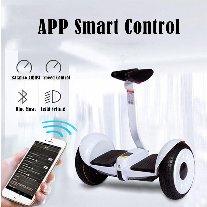 Scooter électrique de contrôle de jambe de Scooter d'équilibre d'individu de Hoverboard électrique de double roue de 54 V - 6