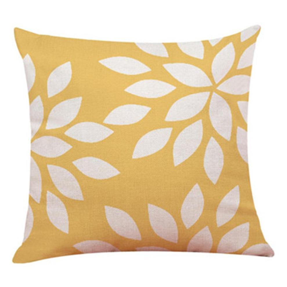Linen Blend Pillow cove Stripe plaid printing Wedding Home Decor Cushion Cover Love Geometry Throw Pillowcase Pillow Covers NEW
