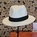 2016 Новые моды для женщин соломенные шляпы лето женский затенение крышка соломы твердые флоппи Широкими Полями головные уборы вс вводная часть 2016062802 u2