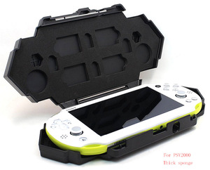 Image 2 - Storage Carry Travel Steel Armor Case for Sony Playstation PS Vita PSV 1000/2000 Game Consoles Shell Cover Accessories