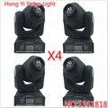 4 PCS DMX-512 Luz Mini Moving Head cabeça Mobil com Formas Automatic Professional 8/11 Canais Disco Party Mostrar
