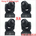 4PCS DMX-512 Mini Moving Head Light Mobil head with Shapes Automatic Professional 8/11 Channel Party Disco Show