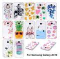 Гель Тпу Тонкий Чехол Обложка для Samsung Galaxy A3 2016 A310 Телефон Силиконовые Защитные Сумки Обложка для Samsung A3 A310F