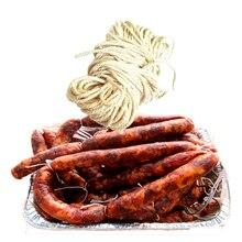 10 м/комплект хлопковая нить ветчина линия по производству сосисок пищевой хлопок линия сумка для блюд из фарша завязывается колбаса Rops кухонные инструменты