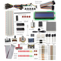 Sunfounder Super Starter Kit With 26 Pin GPIO Extension Board For Raspberry Pi GPIO Cable H