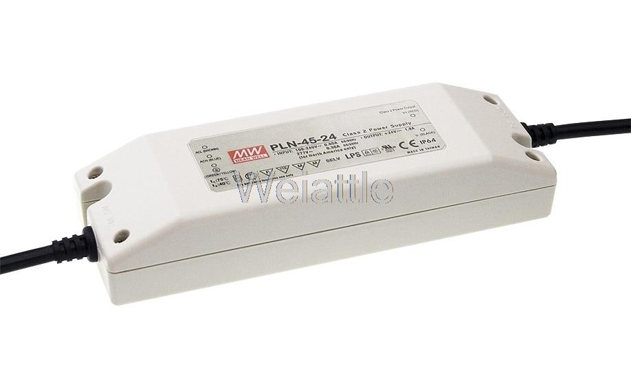 [Cheneng]MEAN WELL original PLN-45-12 12V 3.8A meanwell PLN-45 12V 45.6W Single Output LED Power Supply цены