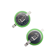 2pcs/lot Panasonic BR1632A/FAN 3V with SMD Foot Button Wide Temperature Battery BR1632A Batteries 125 Degree High