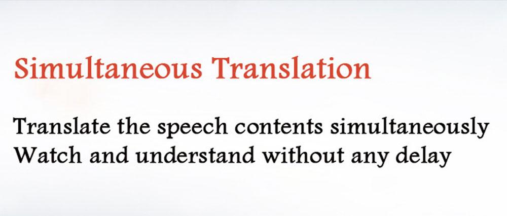 Pocket Language Translator Voice Languages Translation Spanish English French Russian Real-time Multi Instant Translator Device 14