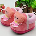 Sweet Baby Crib Shoes Infant Sleep shoe autumn winter thick cotton newborn toddler Warm for kid sleeping bed shoes