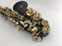 Франция slemer sas 54 альт Саксофоны черный лак покрытием Саксофоны EB Музыкальные инструменты с саксофон мундштук