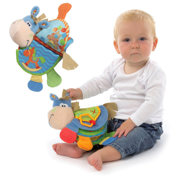 Animal Cloth Book Baby Toys 0 12 Months Activity Development Book