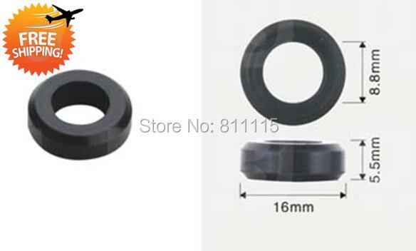 Fuel Injector Rubber Seal 16x8 8x5 5mm 500pcs free shipping O Rings Repair Kits Rubber sealings
