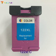 цена на 1pcs Ink Cartridge For HP 122 XL 122XL For HP Deskjet 1000 1050 2000 2050 3000 3050A 3052A printer ink for hp122 cartridge