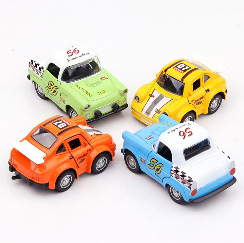 Free Shipping 1:38 little Car Alloy Diecast Car Model Pull Back Toy Car Metal Toy Miniatures Car Kid Toys for Children Toy Gift