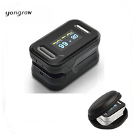 Fingertip Oxymeter Spo2 W 6 Modes 2 Colors PR Monitor Blood Oxygen Pulse Oximeter With Alarm