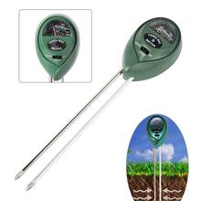 Soil Test Meter, 3-in-1 Moisture/Sun-Light/pH Sensor Meter Soil Test Kits Gardening Tool,Water Test Function for Home and Garden soil and water conservation engineering