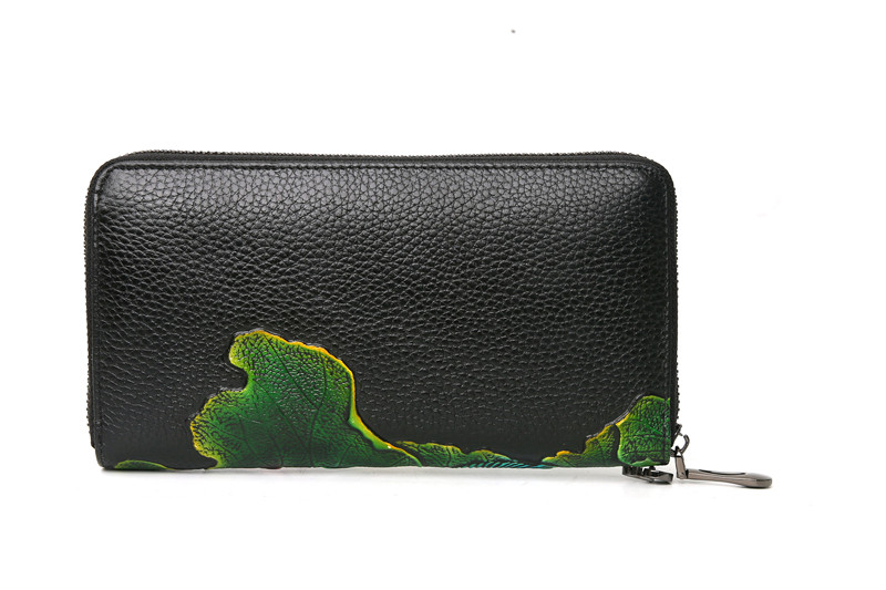 genuine leather wallet female (7)