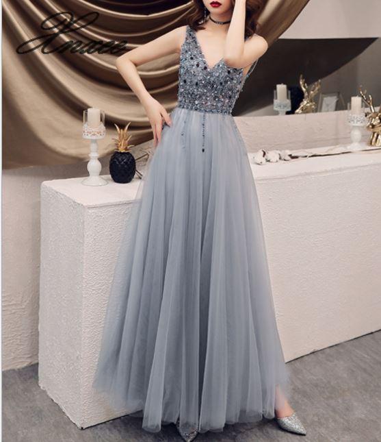 2019 new women s dress simple and generous long dress temperament dress