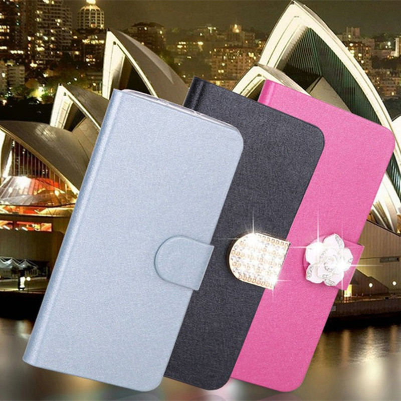 Flip Stand Book Style Silk Case Capa For Xiaomi Mi A1 A2 Lite 6X 5X Redmi 6 6A Note 4 4X 5A Prime note5 Protection Shell Cover in Flip Cases from Cellphones Telecommunications
