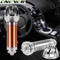 Onever Car Air Purifier 12V Negative Ions Air Cleaner Ionizer Air Purifier Car Dust Smoke PM2.5 Eliminator For Car Home Office