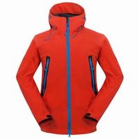 2017 Outdoor Softshell Jacket Men Hiking Jacket Waterproof Windproof Thermal Jacket For Hiking Camping Ski Thick