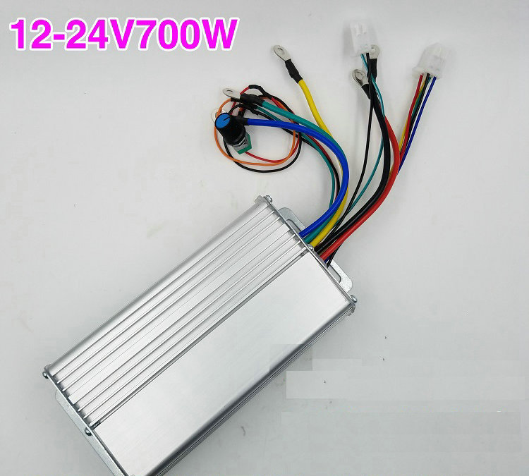 DC12-24V 700W 0-30A Brushless Motor Controller Speed Control Drive Hall Induction Stepless Speed Regulation Forward and ReverseDC12-24V 700W 0-30A Brushless Motor Controller Speed Control Drive Hall Induction Stepless Speed Regulation Forward and Reverse