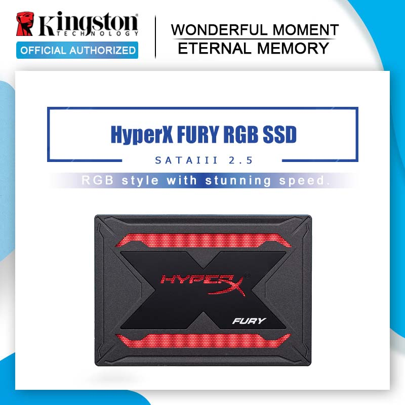 Kingston 240 go Disque SSD Interne HyperX FURY RVB SSD 480 go 2.5 pouces SATA III HDD Disque Dur 960 go superbe éclairage RVB-in Disques internes SSD from Ordinateur et bureautique on AliExpress - 11.11_Double 11_Singles' Day 1