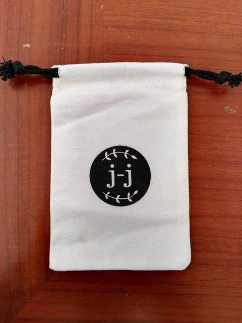 500pcs Small Drawstring Bag Canvas Fabric Jewelry 7 9cm Gift Packaging