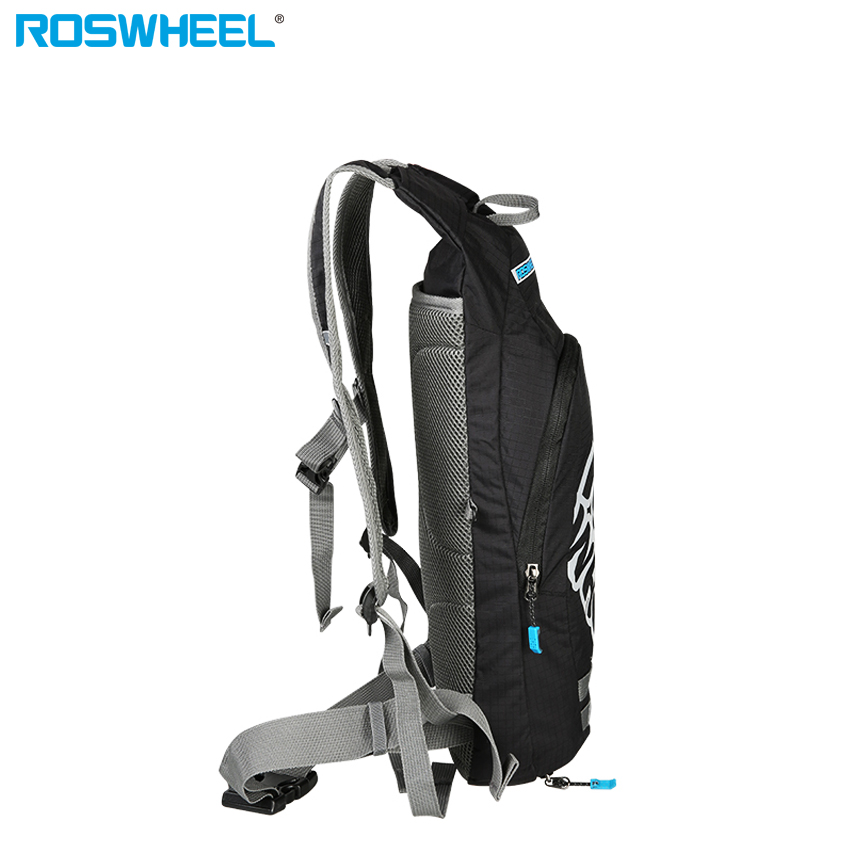 866fb9f5489 ROSWHEEL bike backpack with 2L bladder helmet holder bicycle bag cycling  backpack for running hiking climbing wholesale-in Bicycle Bags & Panniers  from ...