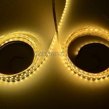 14,4 Вт/м 5050 светодиодный полосы 12 V светодиодный лента белый/теплый белый/чистый белый гибкие полосы света светодиодный 24 v веревочки 100 м/лот DHL
