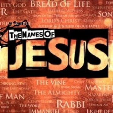 The Names of Jesus Laminated Poster Print (36 x 24)