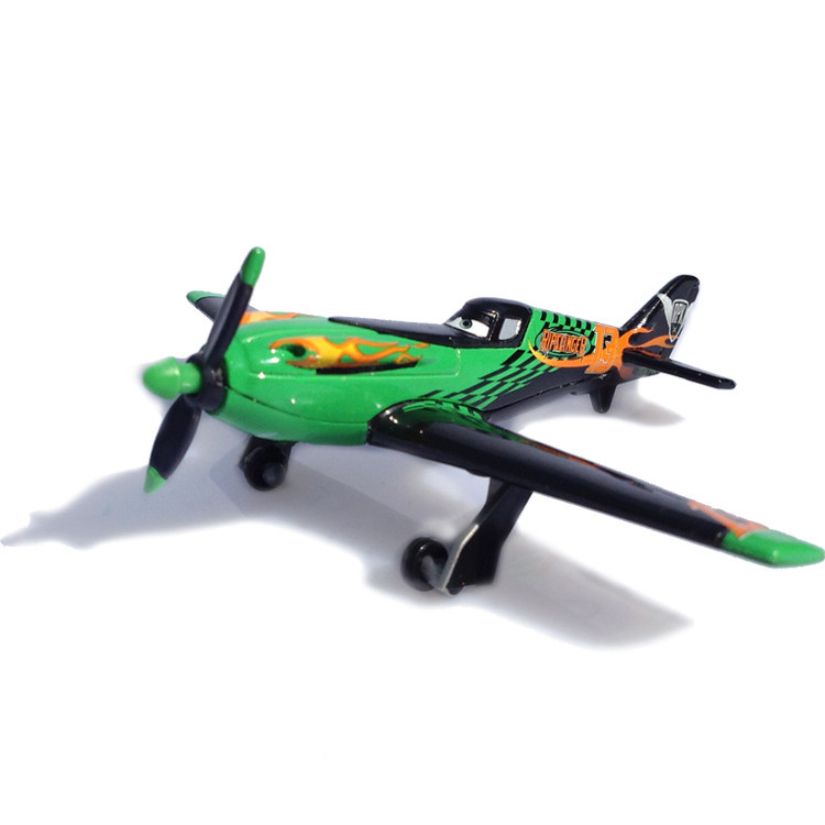 Disney Pixar Cars 2 Planes No.13 Ripslinger 10cm Metal Diecast Alloy Toy Plane Model For Children 1:55 Brand Toys New In Stock