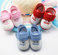 New Baby Boys & Girls de Dibujos Animados Zapatillas de Algodón Zapatos de Suela Suave Prewalker Primeros Caminante Del Niño Anti-slip 0-1 Años