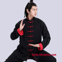 Male & Female Handmade Linen Tai Chi Uniform, Kung Fu,martial Art Chinese style Suit Black,red,llight Blue,orange,white