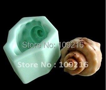 1 шт. морская улитка(r0099) Силиконовые ручной Мыло Mold ремесел DIY Плесень