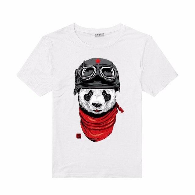 3a35580f3312 New Design Men Fashion Short Sleeve Cartoon Panda 3D Printed T Shirts Cool  Tees