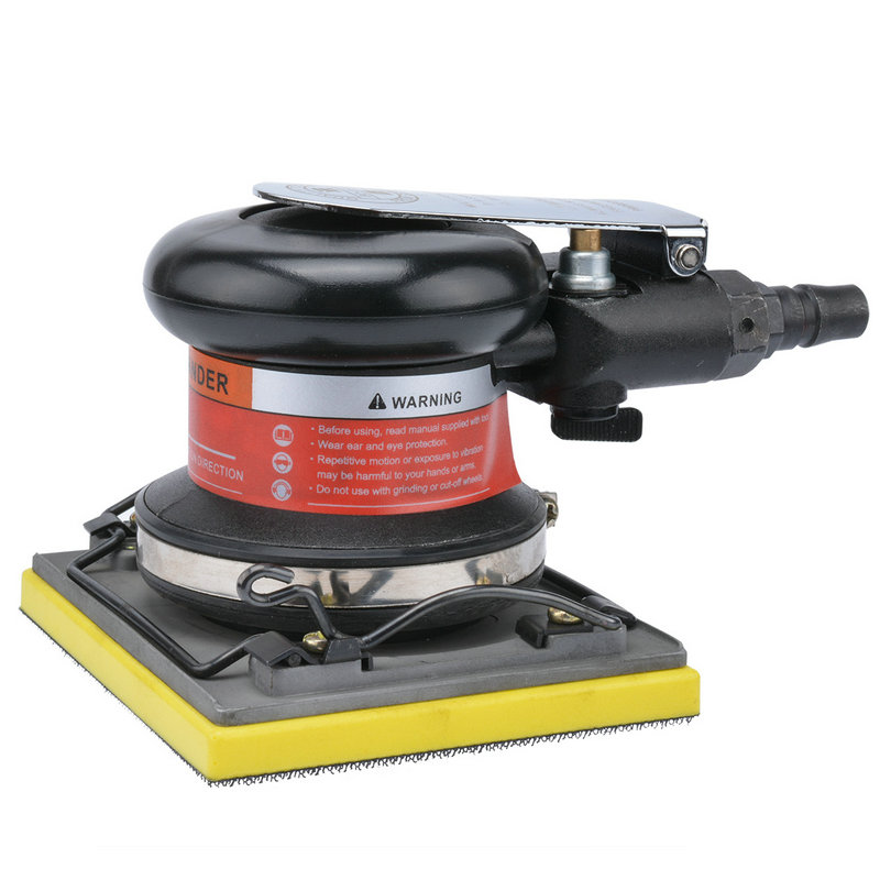 Pneumatic polishing machine grinding machine rectangular sandpaper polishing machine 110*100mm BD-0137  цены