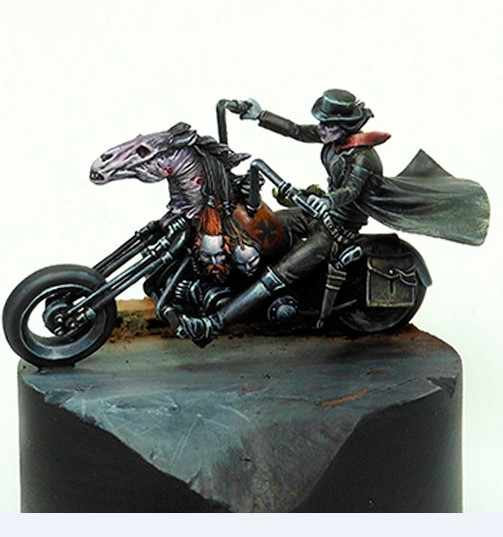 35MM Scale Devil Rose Unpainted Resin Model Kit Figure Free Shipping