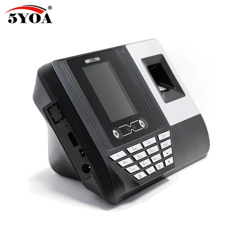 5YOA AF3 Biometric Face Facial Fingerprint Recognition Time Attendance System Machine Device Lahore
