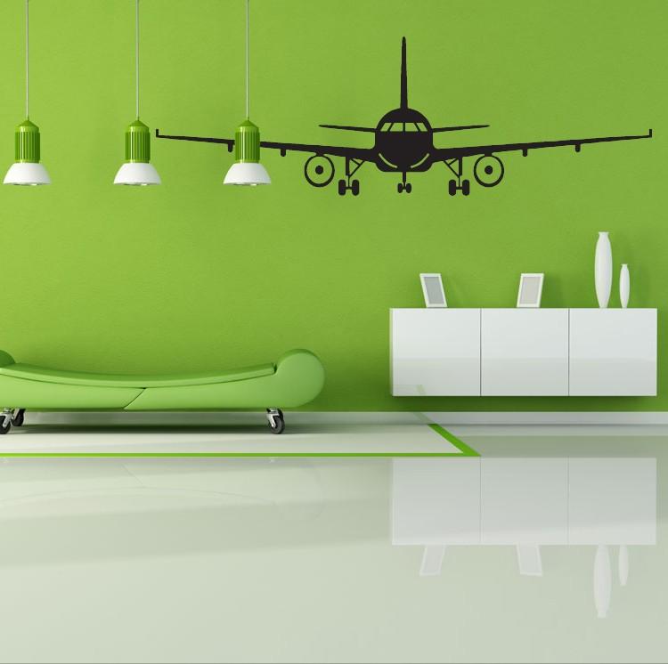 4028 3D Airplane Wall Stickers Muraux Wall Decor Airplane Wall Art ...