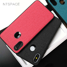 New Vintage Canvas Fabric Cases For Xiaomi Mi 5X 6X Case Soft TPU Edge Shockproof Hard PC Cover A1 A2 Lite