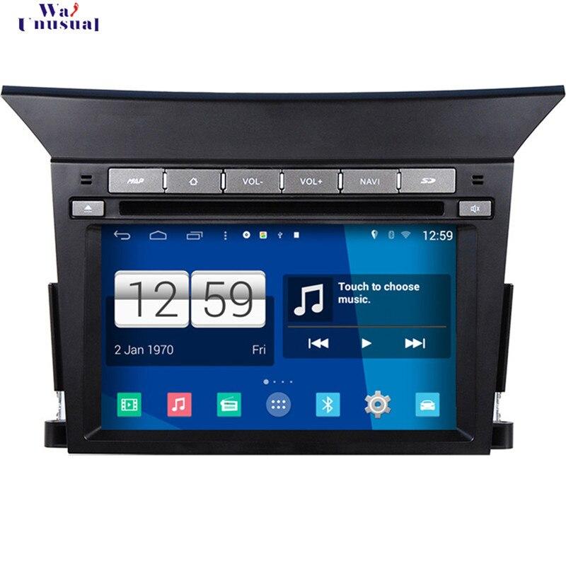 Wanusual 2017 автомобиль Стайлинг 7 ''Чистая Android 4.4.4 Авто GPS навигация для Honda Pilot Радио стерео с WI FI BT 3G 1024*600 Карты