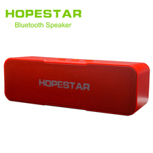 HOPESTAR-H13 Bluetooth Speaker Wireless subwoofer Dual Bass Stereo Support USB TF AUX FM with Power bank charging for phone цена и фото