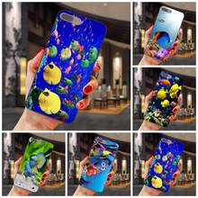 Print Telefoon Case Voor Samsung Galaxy Note 4 8 9 S3 S4 S5 S6 S7 S8 S9 S10 Rand Plus lite I9080 G313 Cartoon Tropische Vissen Verticle(China)