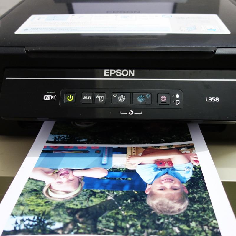 Купить с кэшбэком 50sheets double side Glossy inkjet Paper 120g 160g 200g 240g 300gsm for restaurant menu photo image printing Jetland photo paper