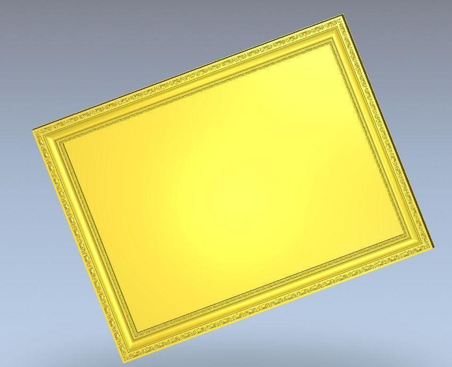 3d модель, рельеф для ЧПУ в формате STL Frame_7