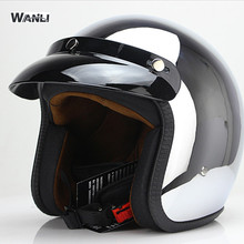 New arrival motorcycle helmet retro vespa helmets vintage op
