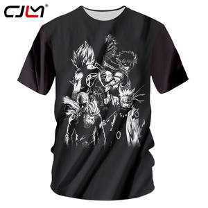 4d29fd8cc00 CJLM Anime Tshirts T-shirts Man Fit Slim T Shirts