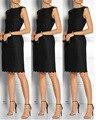 Vestidos de cóctel Siempre Pretty 2016 Negro hort stian Sexy Acanalada Vestido de Cóctel Ocasión Especial