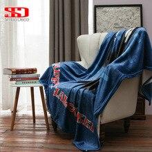 Хэллоуин призрак бросьте одеяла на диван постельные принадлежности крышка белый флаг костюм мягкий теплый чехол покрывала плюшевые меховые бежевый взрослых Стёганое одеяло